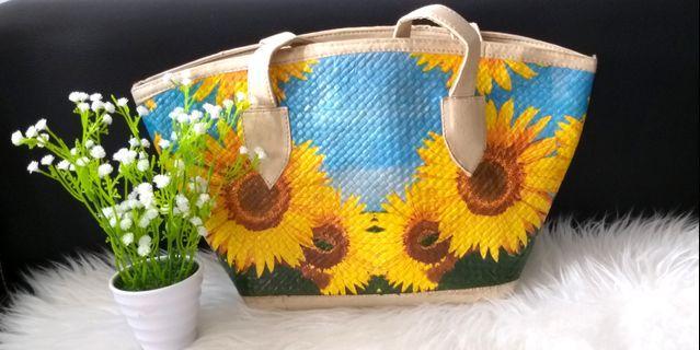 Beach Bag Sun Flower