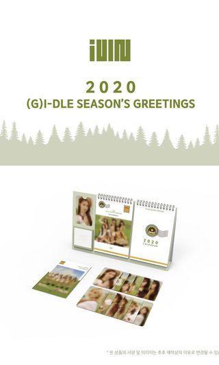 [Preorder] (G)i-dle 2020 Season's Greetings