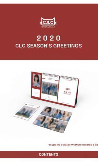 [Preorder] CLC 2020 Season's Greetings
