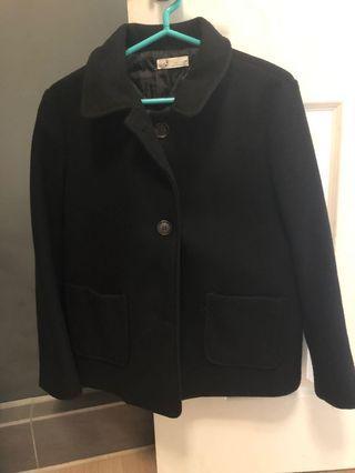 韓版黑色大衣外套#剁手時尚