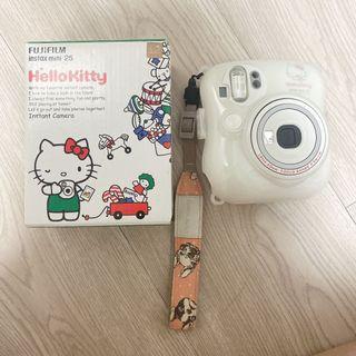 Hello kitty mini25 拍立得 送kitty行動充 可議