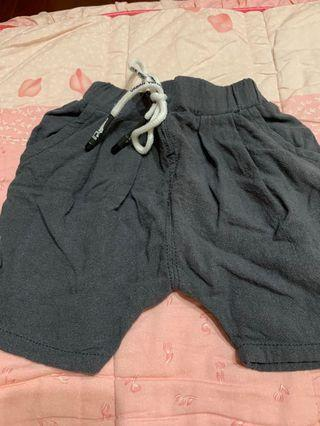 棉麻透氣短褲