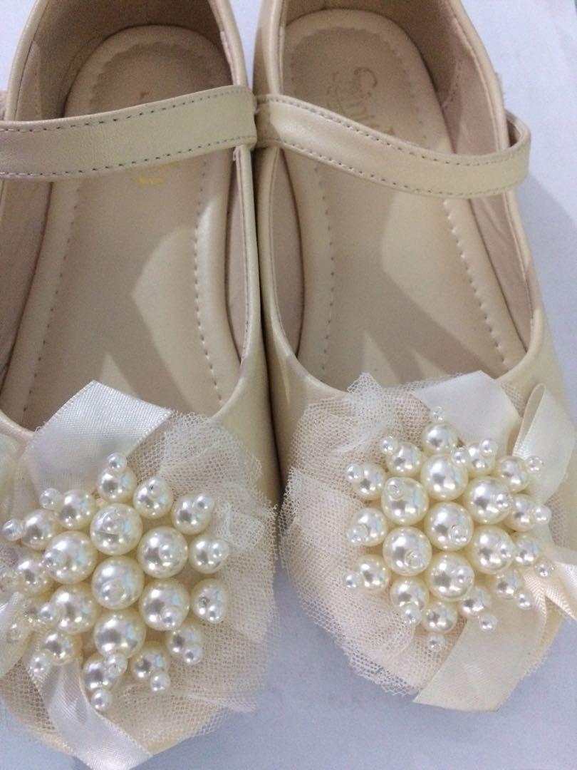 女童鞋花女鞋