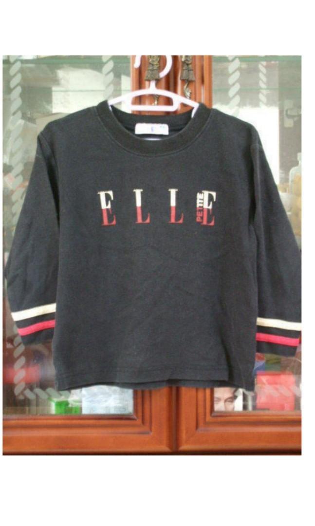 童裝 百事特 ELLE 童裝 長袖 T恤 上衣 ~4號 (4歲)