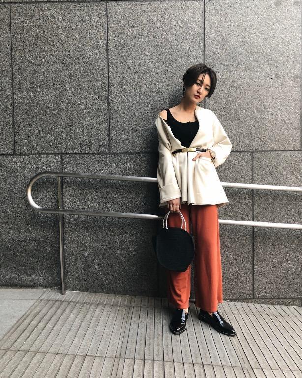 [全新|免運]日本正品 Moussy 排扣細肩帶背心