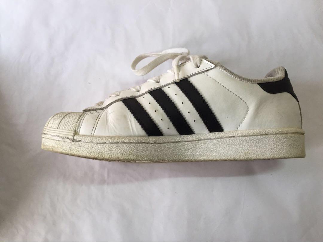 Adidas Originals SUPER STAR 貝殼鞋 JP24.5