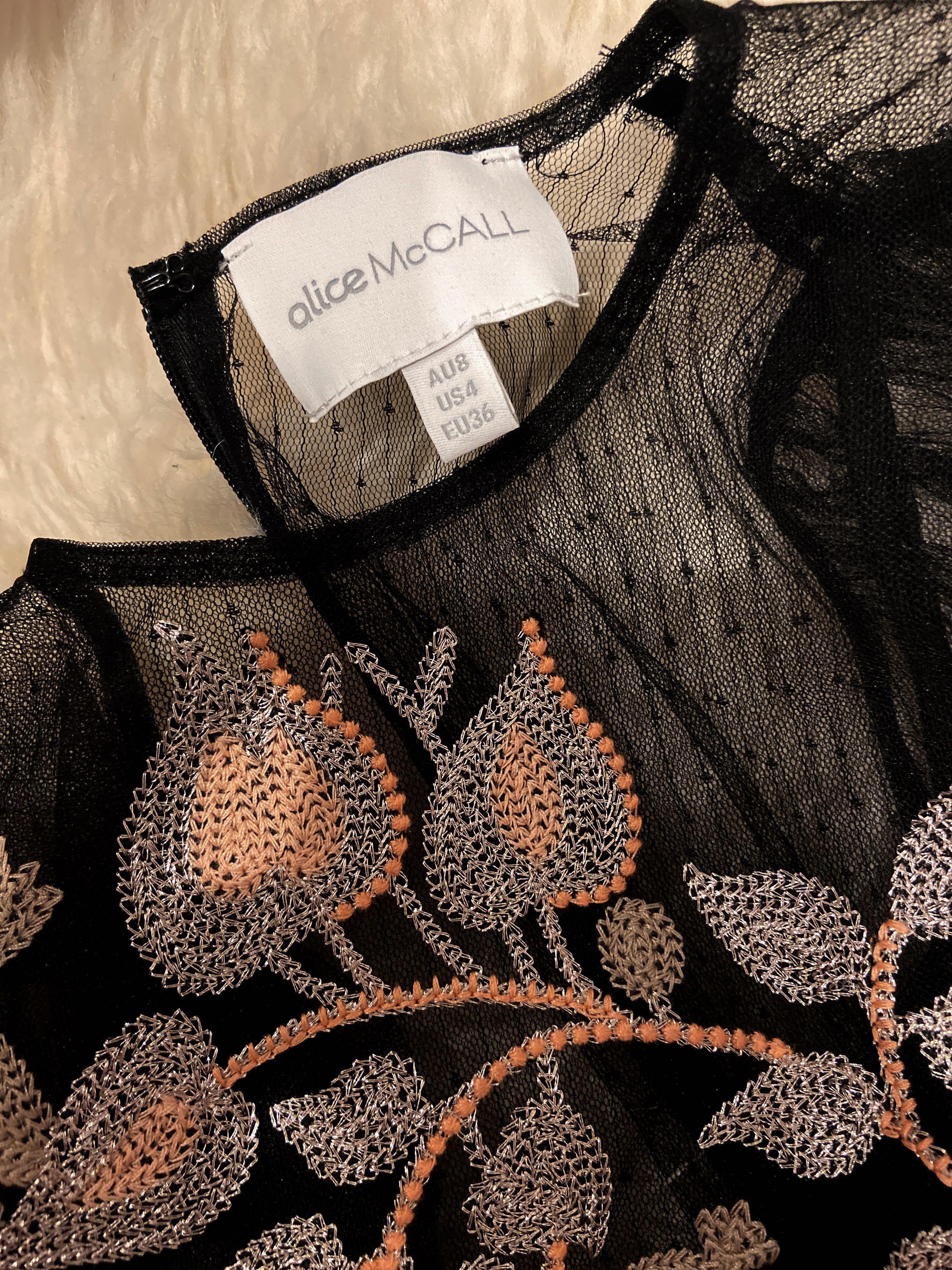 Alice McCall | Beyond Dress | Black Cherry | AU8