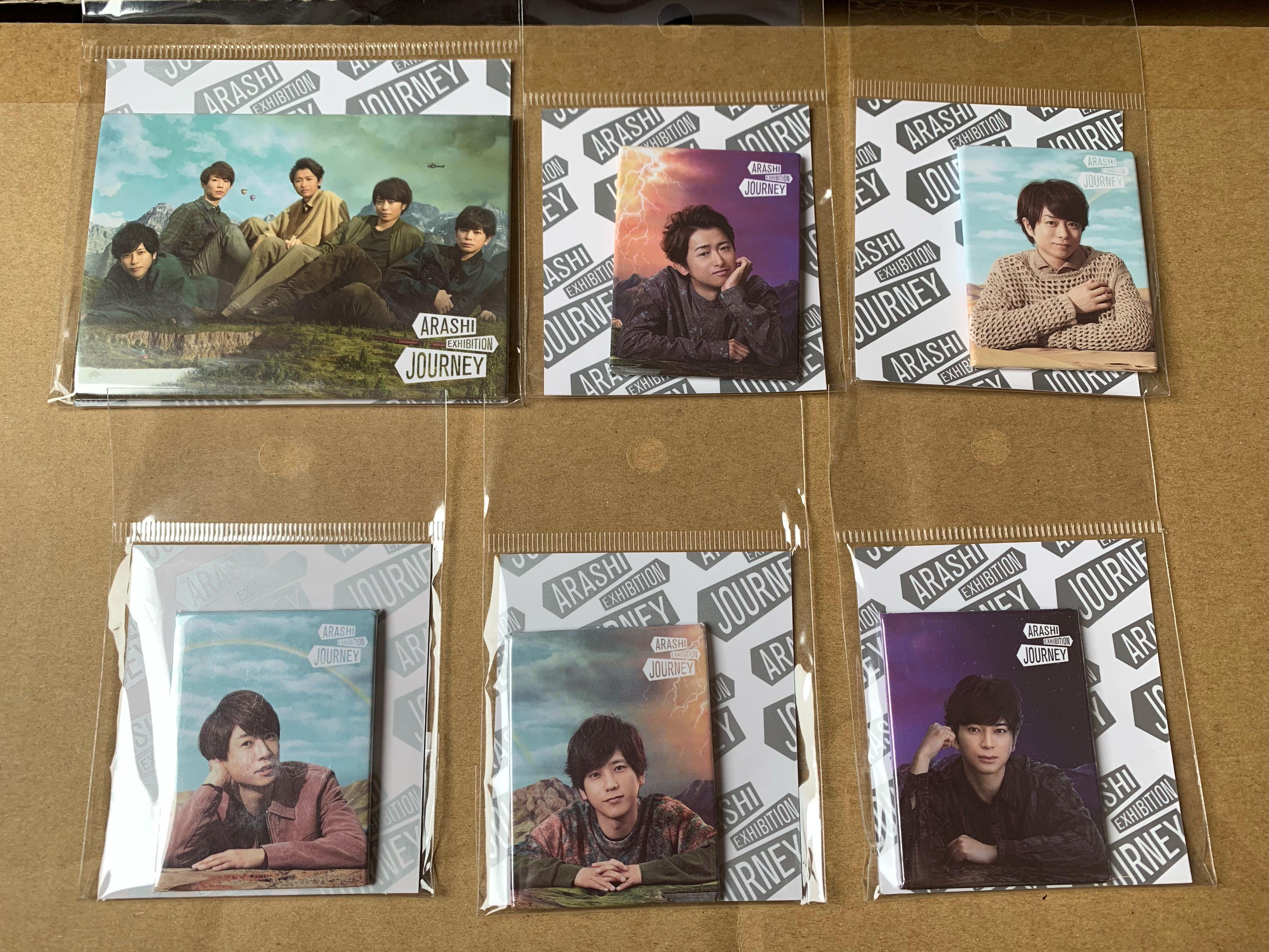 現貨 Arashi Exhibition Goods  磁石