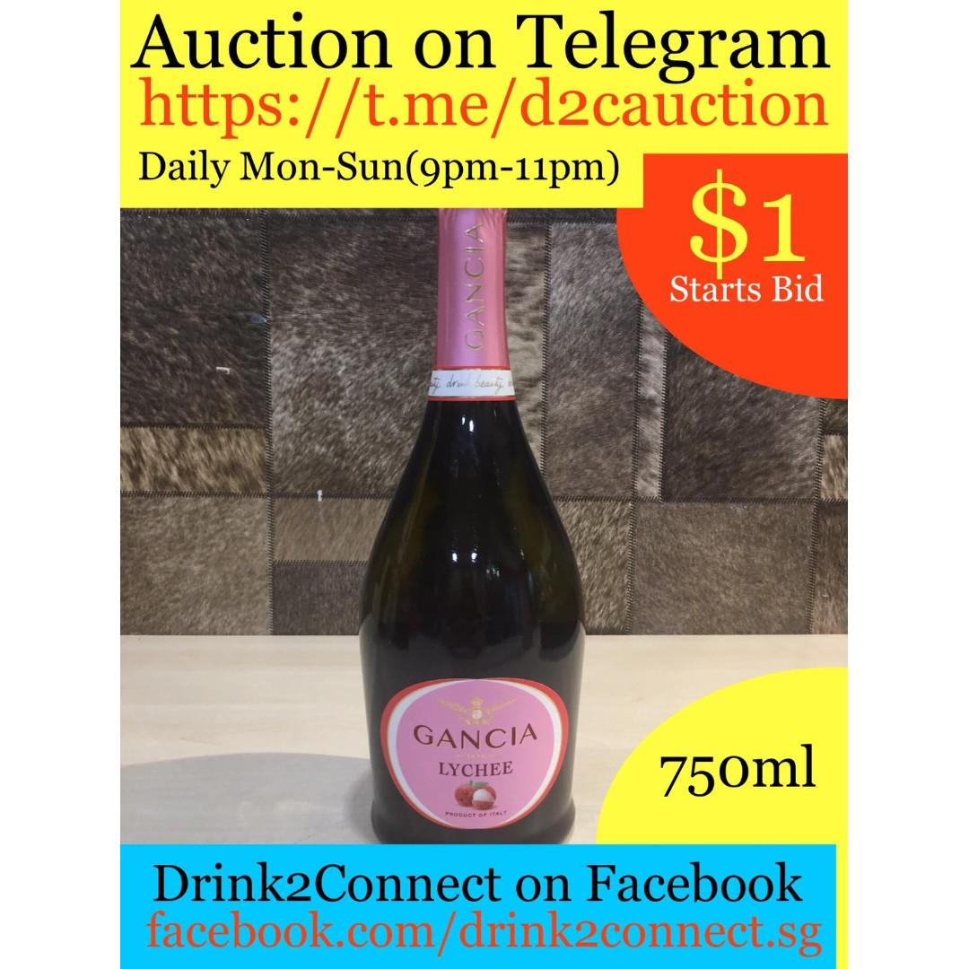 (Auction) Gancia Lychee Prosecco by Drink2Connect