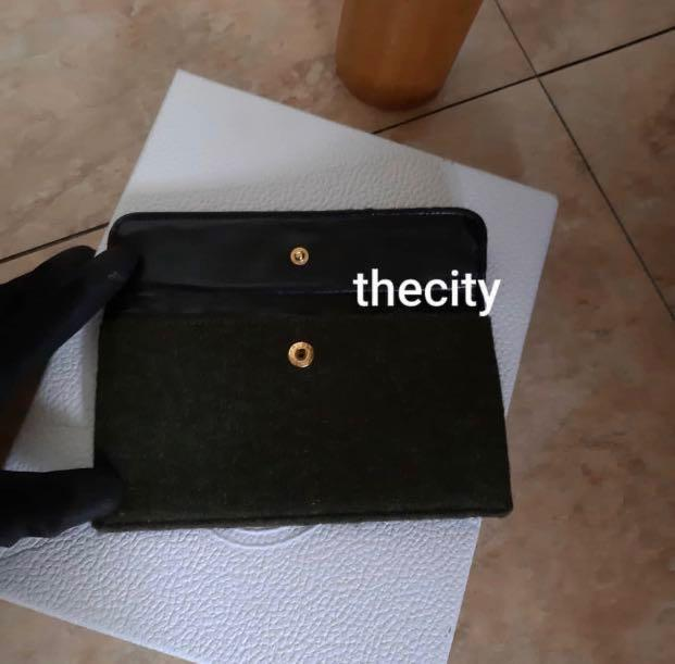 Authentic Chanel Quilted CC Logo Flap Vanity with Long Strap