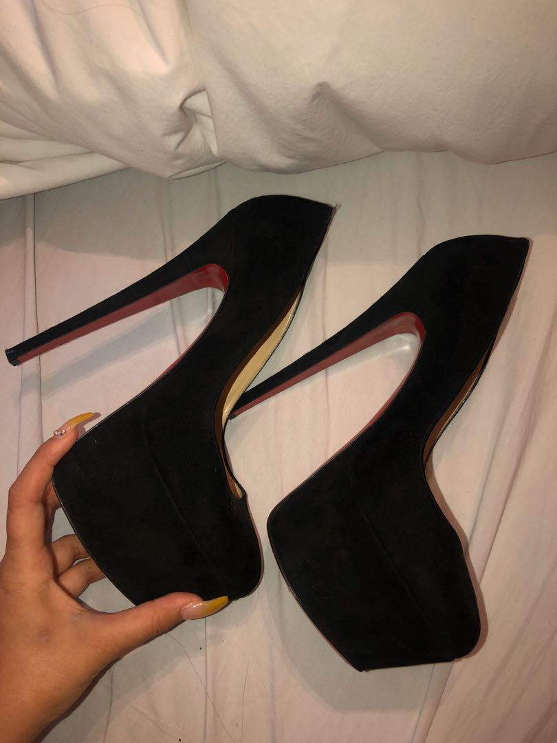 Authentic Christian Louboutin Highness Heels [Sold out Everywhere]