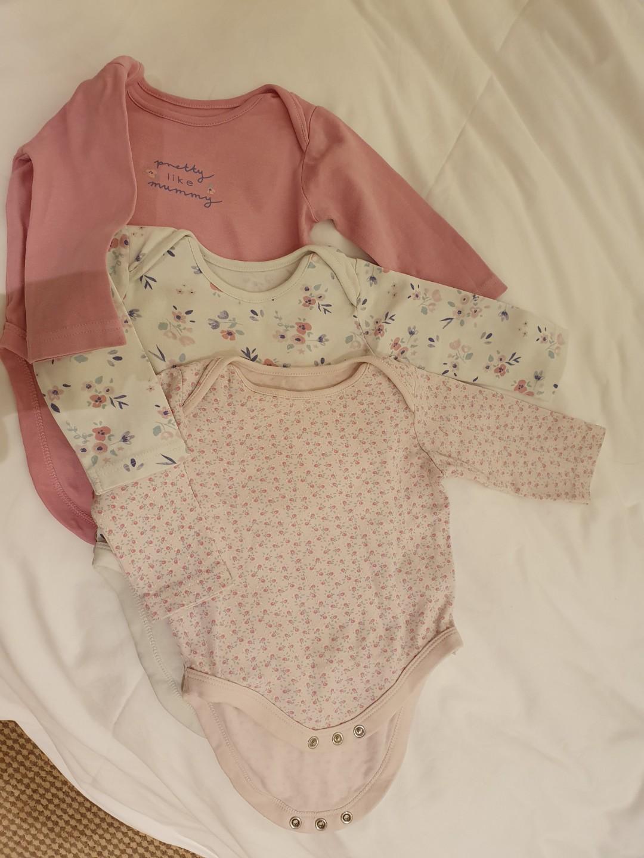 Baby girl onsies - Mothercare