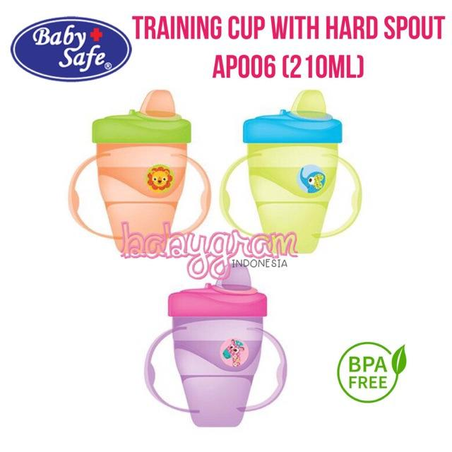 Babysafe AP006 Training Cup With Hard Spout 210ml AP006 Baby Safe 3