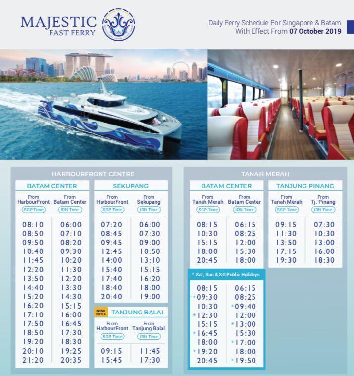 Batam Ferry E-Ticket