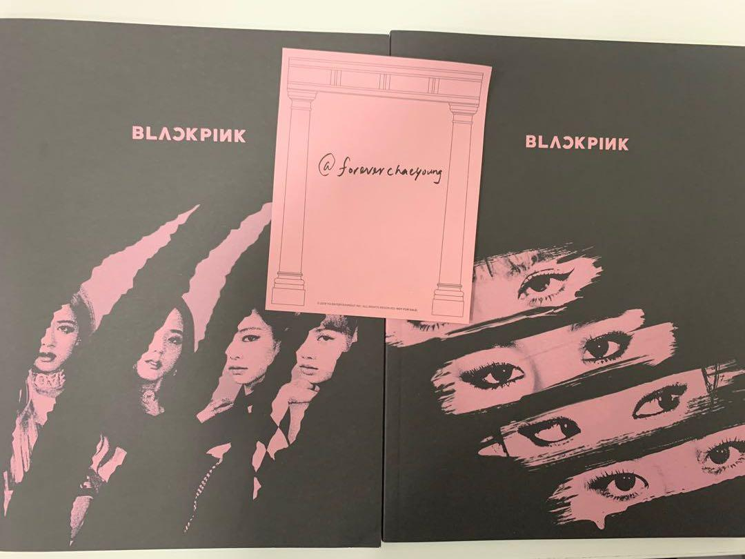 Blackpink official kill this love photobook