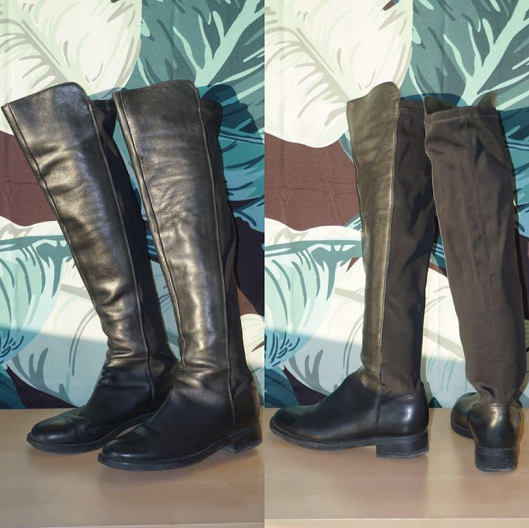Blondo 'Eden' Over the Knee Pull-on Boots Size 7.5