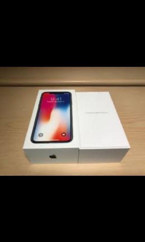 Brand New Apple iPhone X 128/256 GB Factory Unlocked