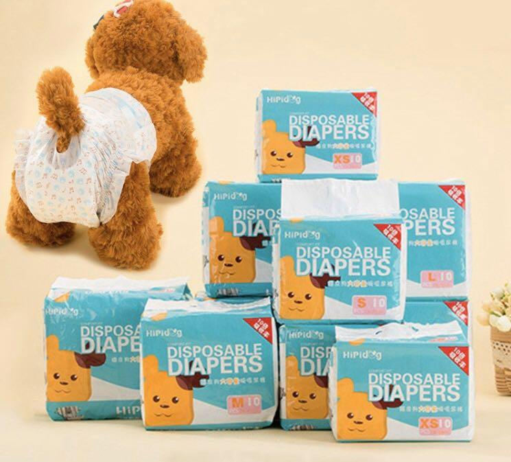 Brand new dog diapers female dog sanitary pants l size