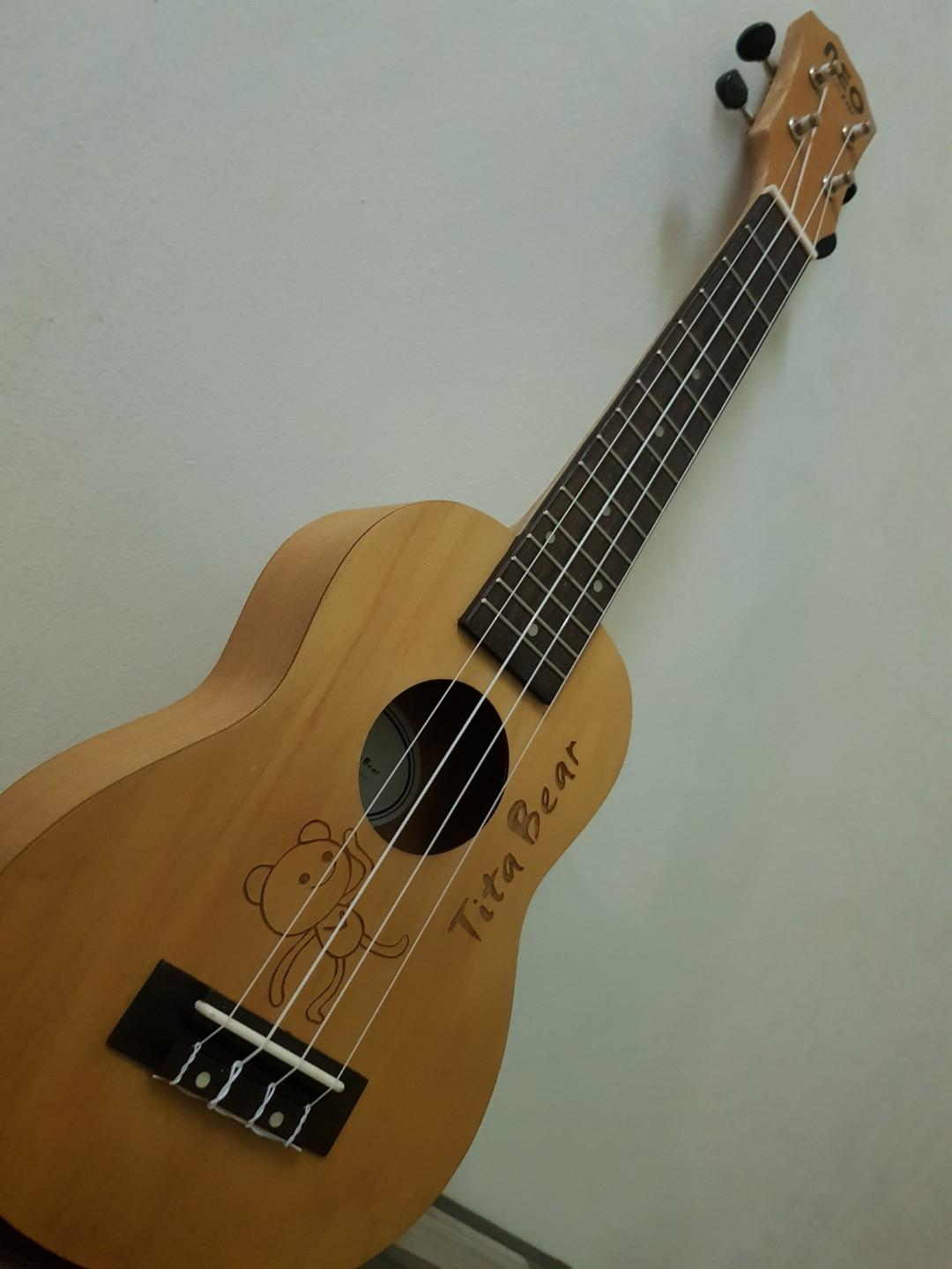 Brand New Mahogany Wood Ukelele with Bag(last price)