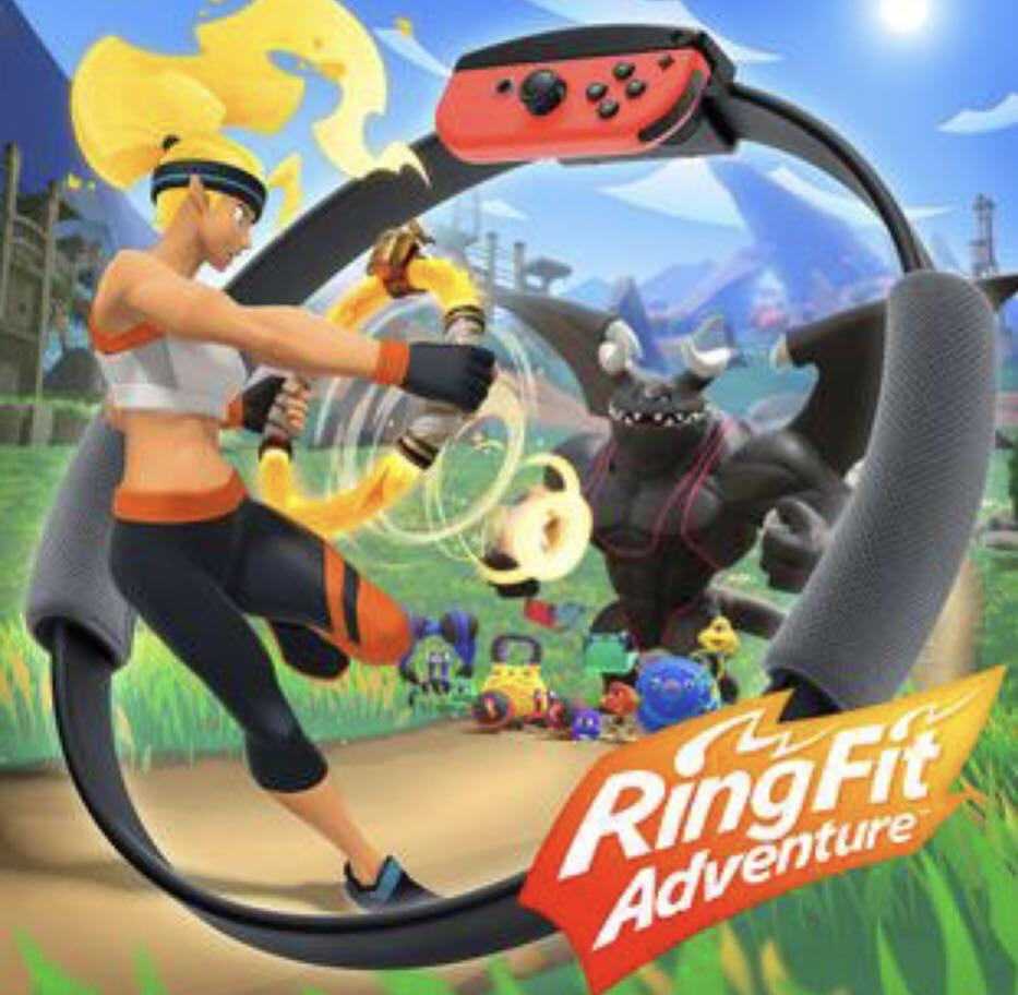 Buying 徵收 Switch Ring Fit Adventure