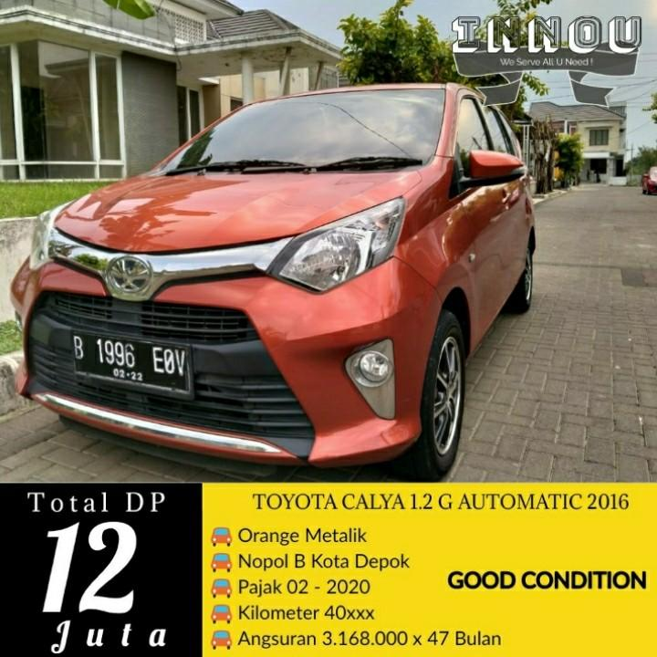 Calya G Automatic 2012 Kredit Proses Cepat