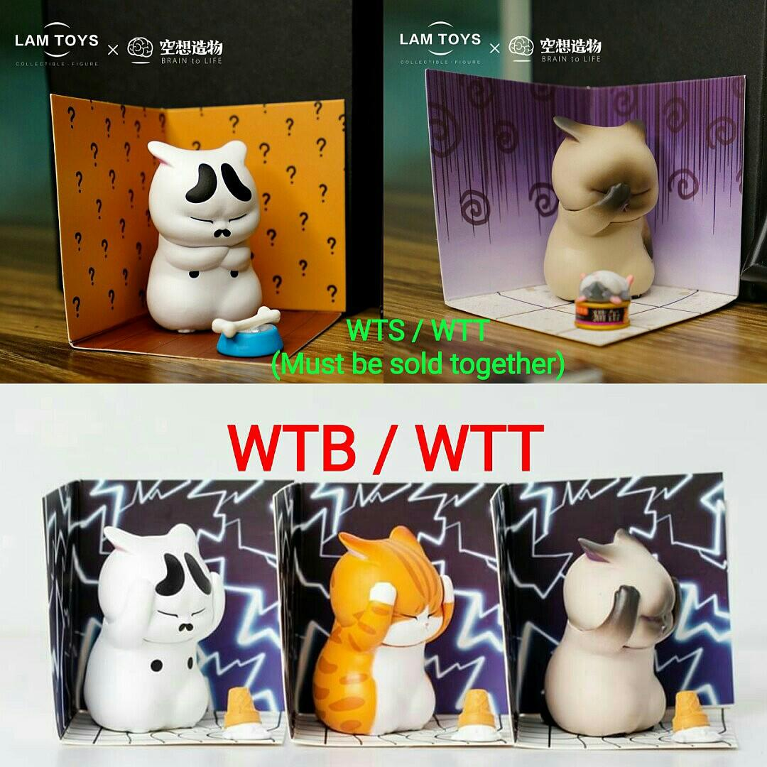 [OFFICIAL] Lam Toys X Brain To Life Distressed Cats Trading Figures