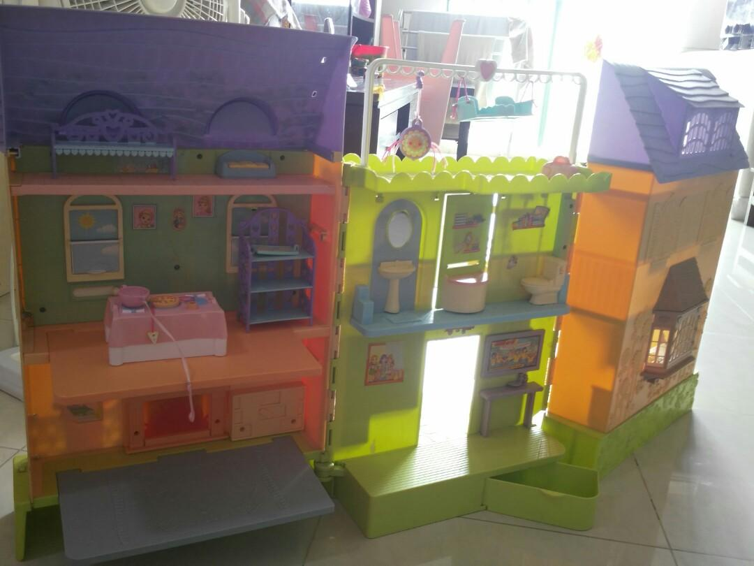 Clearance learning curve doll house