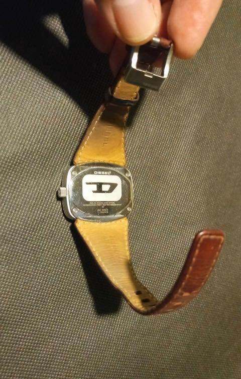 歡迎換物-Diesel 復古手錶⌚️ 二手