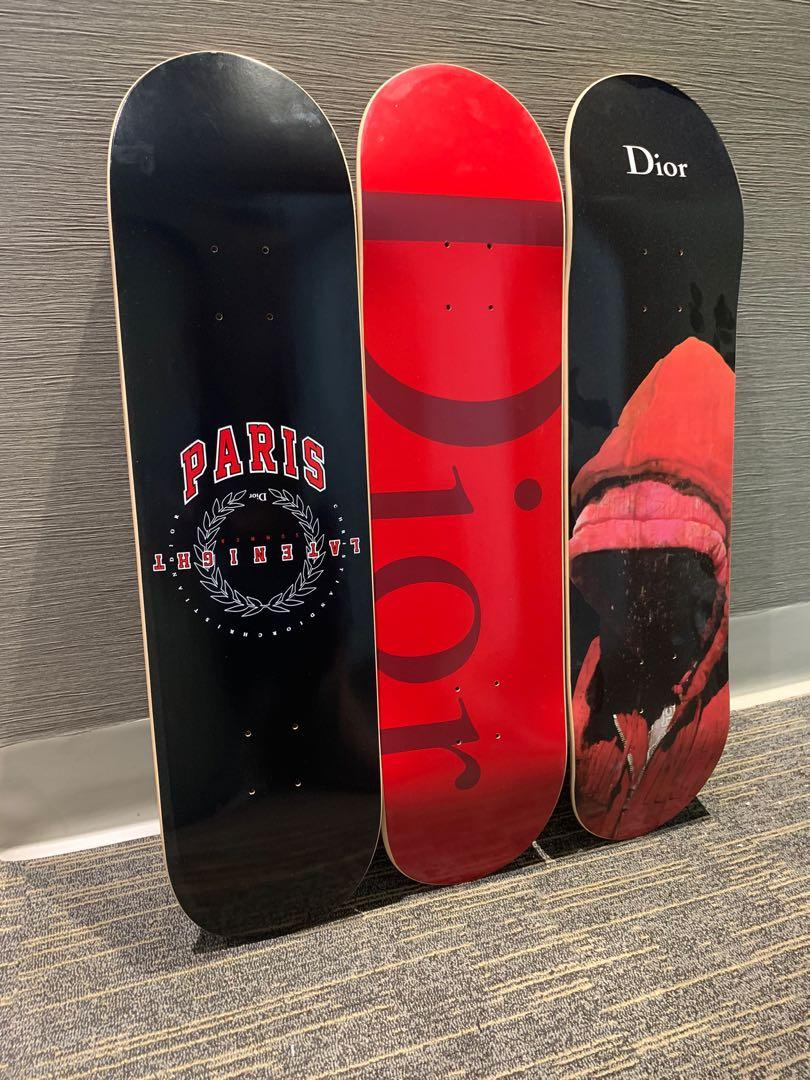 Dior Homme skateboards supreme