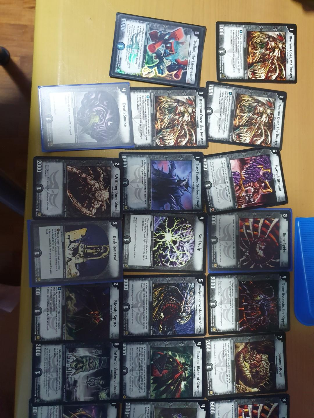 Duel Master Cards - Stallob foil card + miscellaneous cards