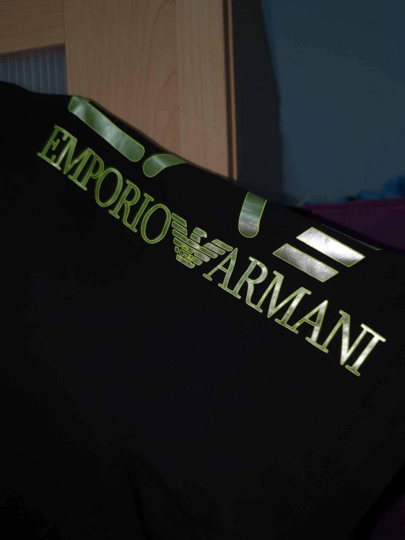 emporio armani v cut shirt