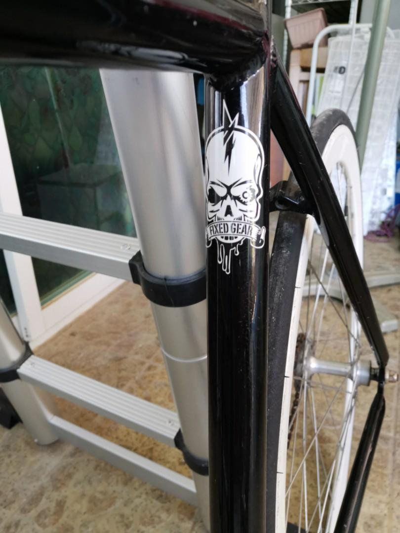 Fabric Fixed gear bicycle 死飛單車