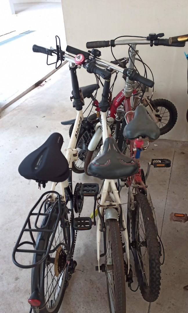 "Folding bike - All 20"" wheel"