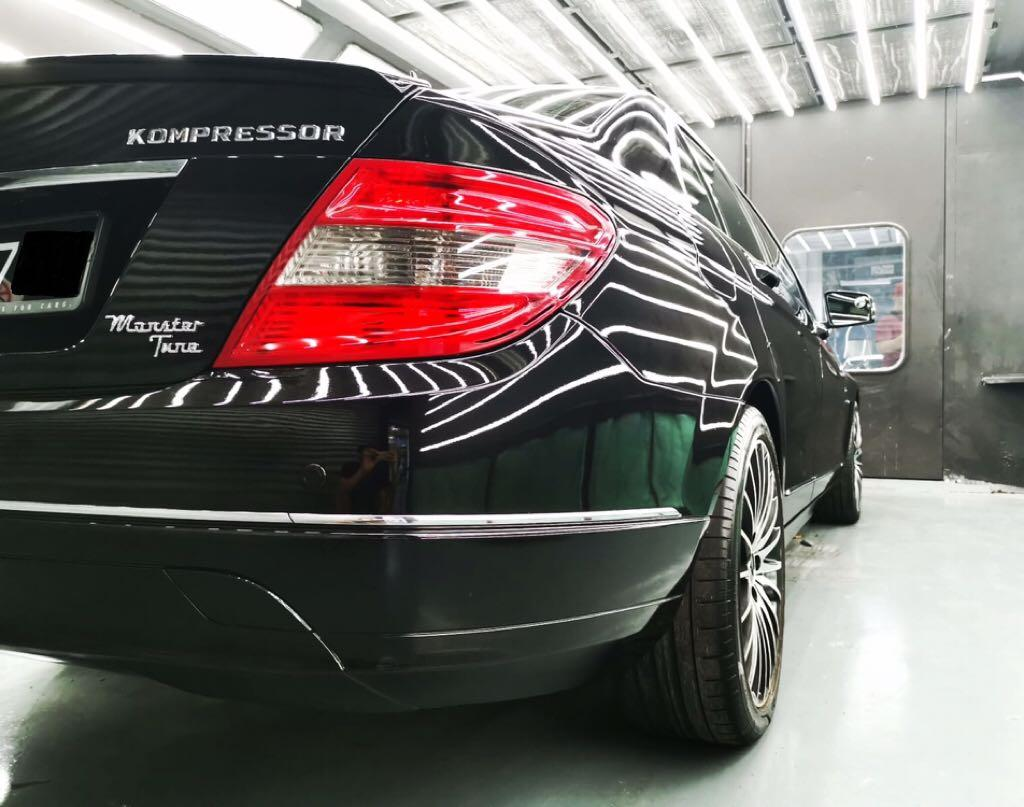 Mercedes C200 for Daily/Hourly/Special Event Rental