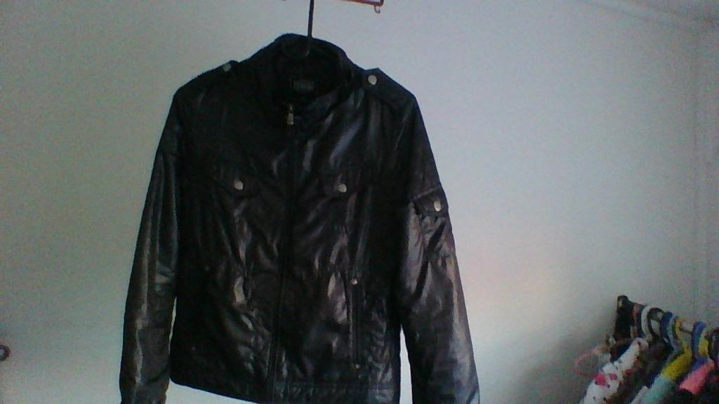 GET USED NEW YORK - XS - Fake Biker Jacket - BLACK