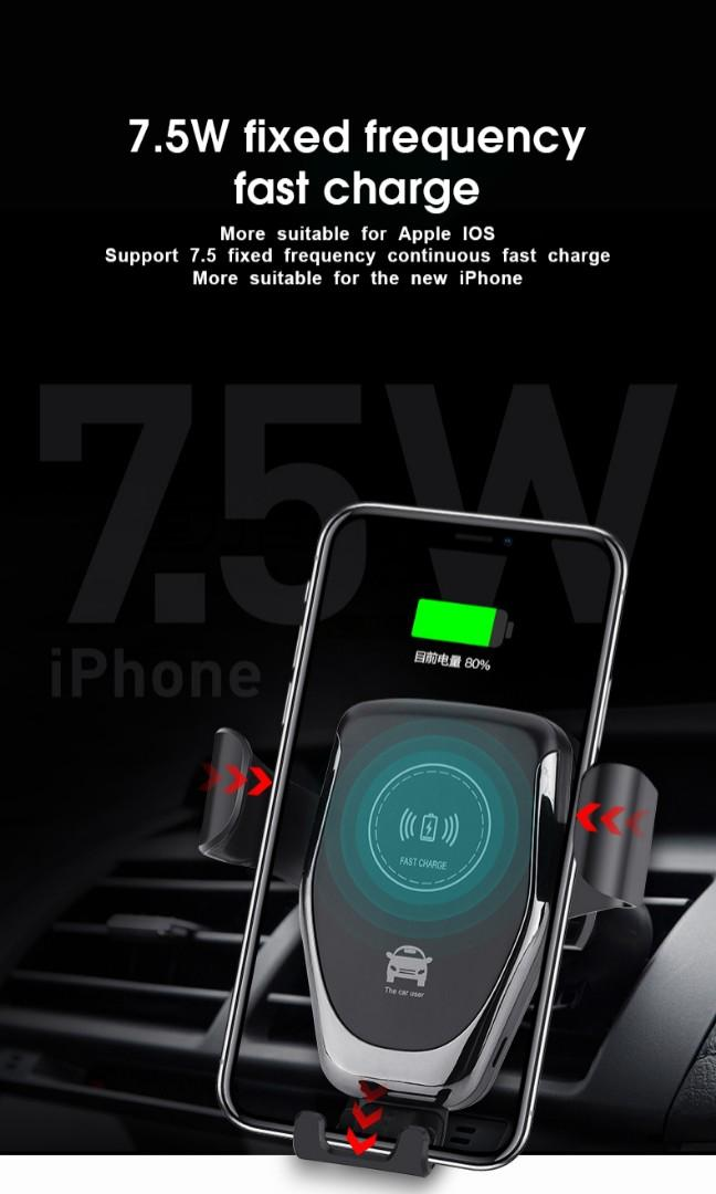 Gravity Car Wireless Charger
