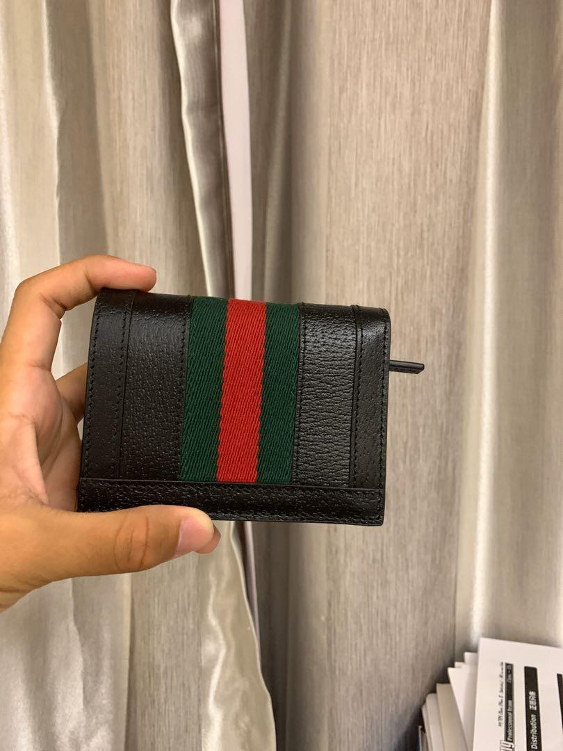 Gucci wallet  100%real任驗 99新用過一次 無所有配件