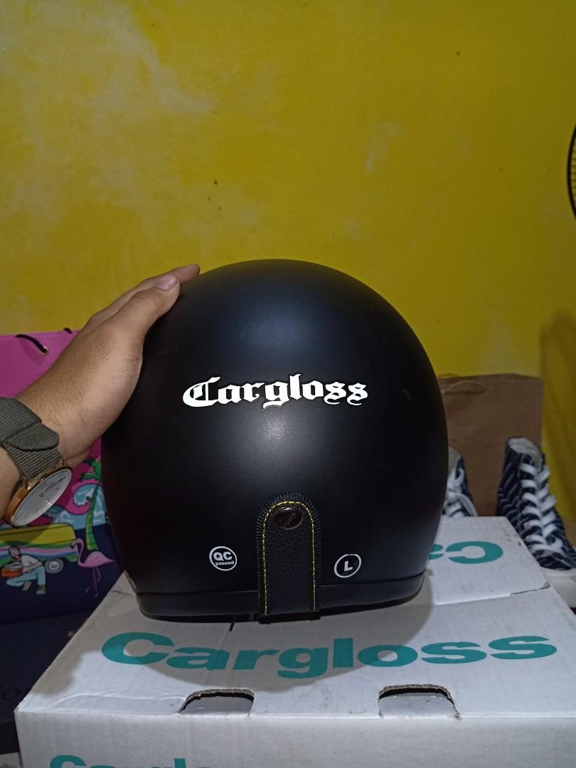 Helm Cargloss full black edition