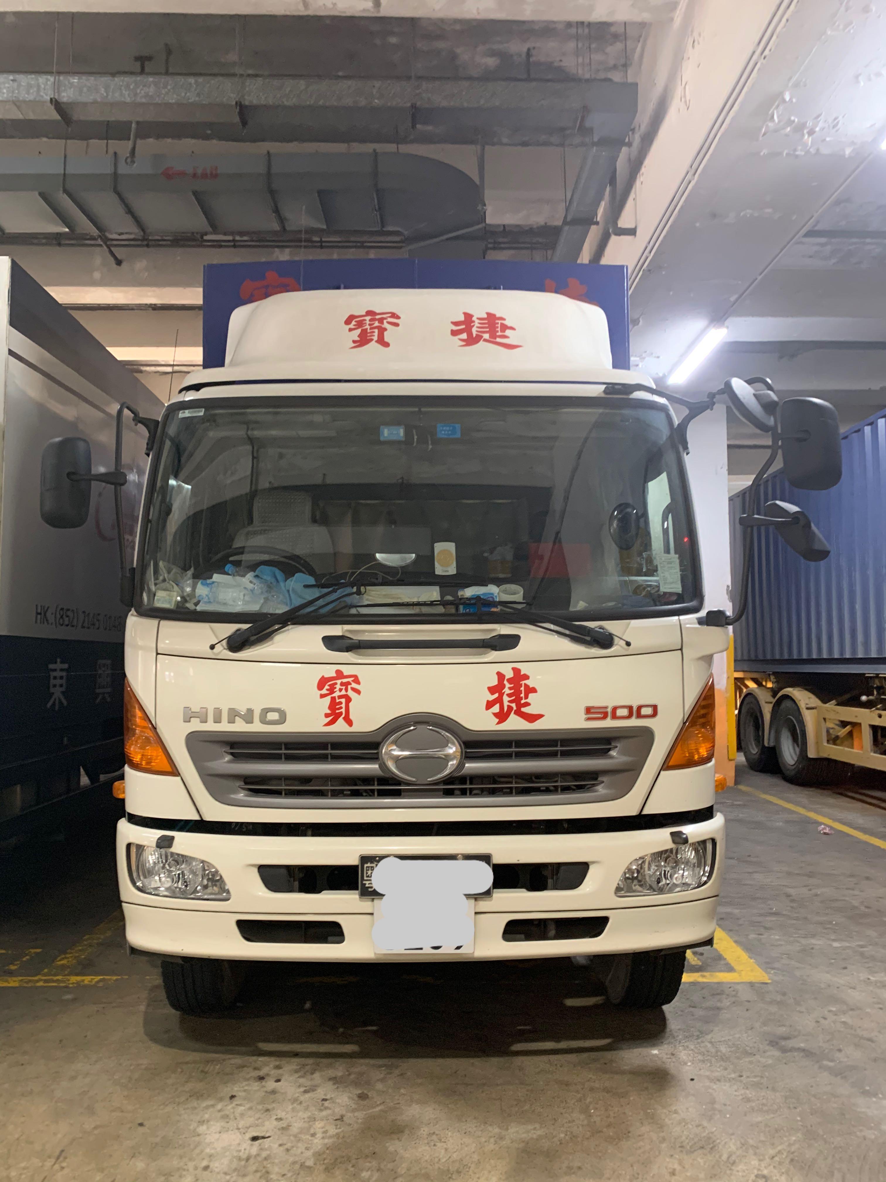 日野HINO 500 SERIES GH8JSMA (16TONS) 16噸 中型貨車