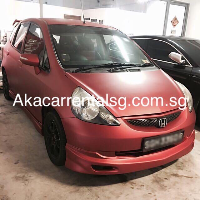 Honda Jazz for rent! Mon-fri package Pplate welcome