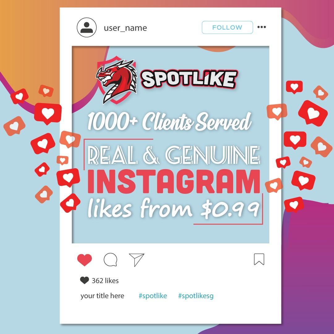✓ Instagram Likes from $1 (IG, FB, YT, TIKTOK)