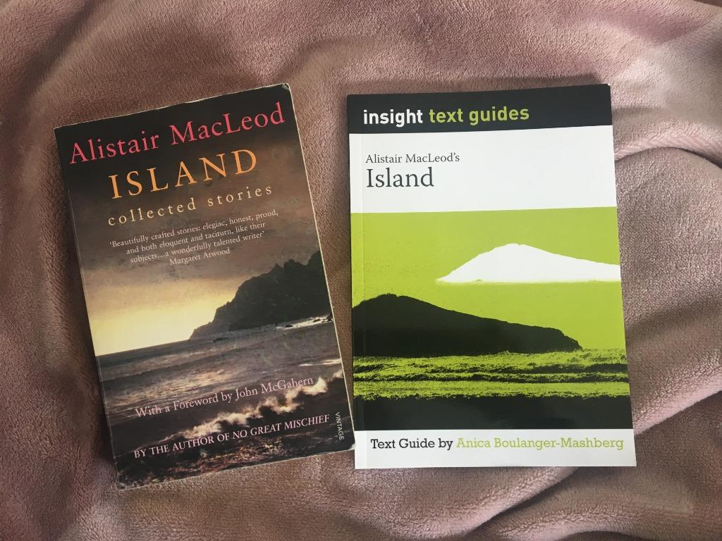Island collected stories by Alistair MacLeod + Island insight guide by Anica Boulanger-Mashberg