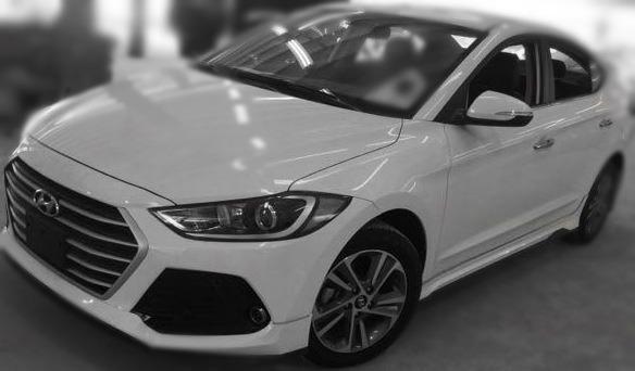 Jc car 現代 Elantra 2018年 柴油頂級 渦輪1.6L省油省稅有力 原漆原鈑件 多功能影音 低里程一手車庫車