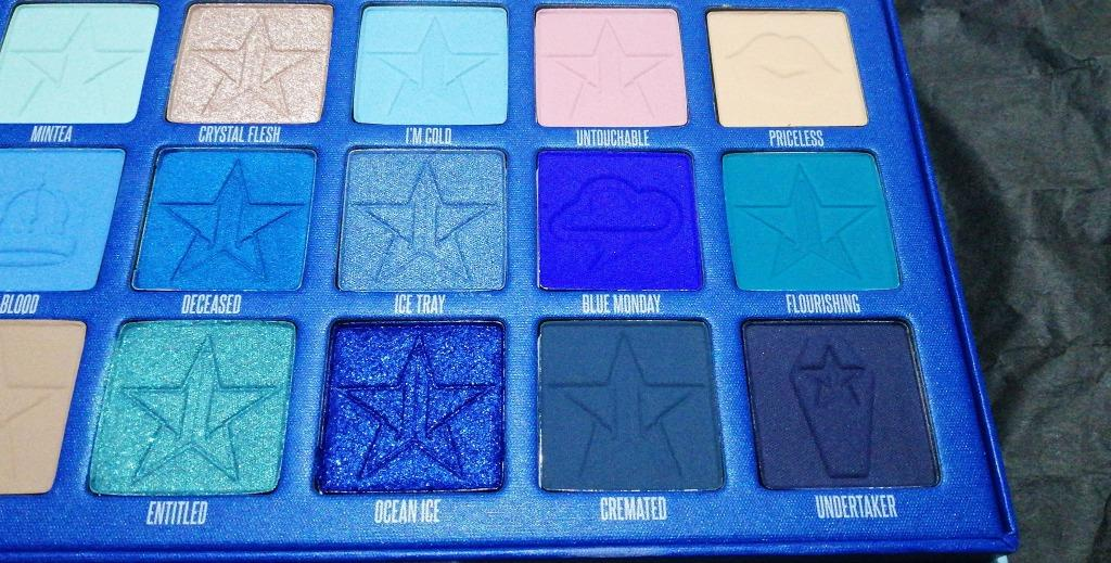 Jeffree Star Blue blood Palette. [BRAND NEW & AUTHENTIC] NO SWAPS, PRICE IS FIRM