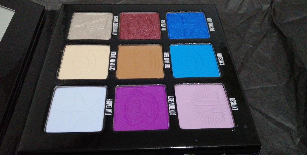 JEFFREE STAR COSMETICS X SHANE DAWSON MINI CONTROVERSY PALETTE NEW IN PACKAGING. NO OFFERS