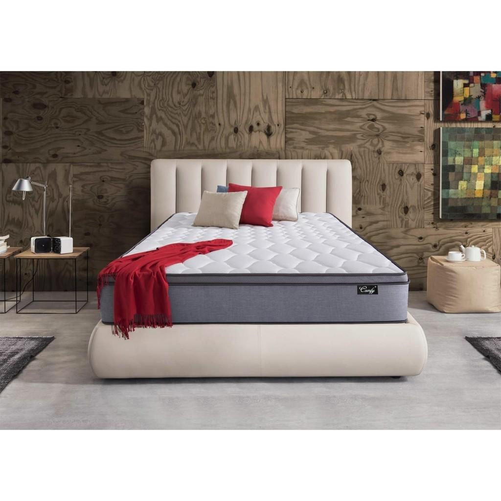 KING Comfy10 Inch Pocketed Spring Mattress