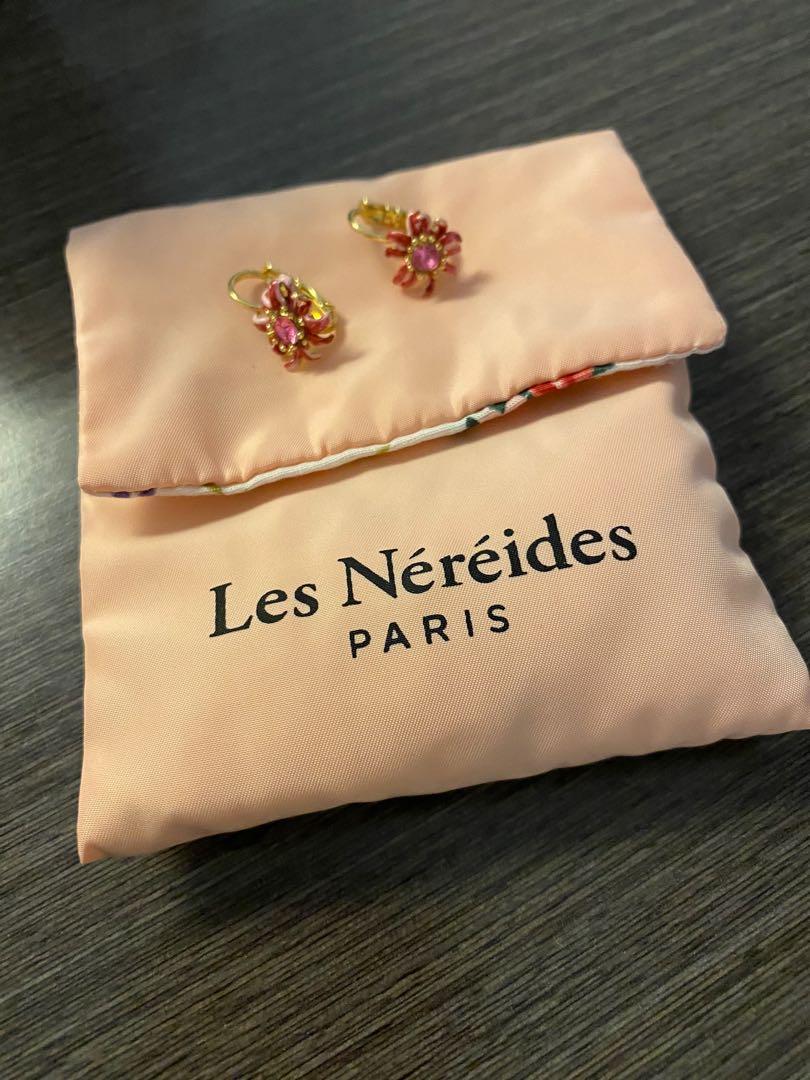 Les Nereides flowery earrings
