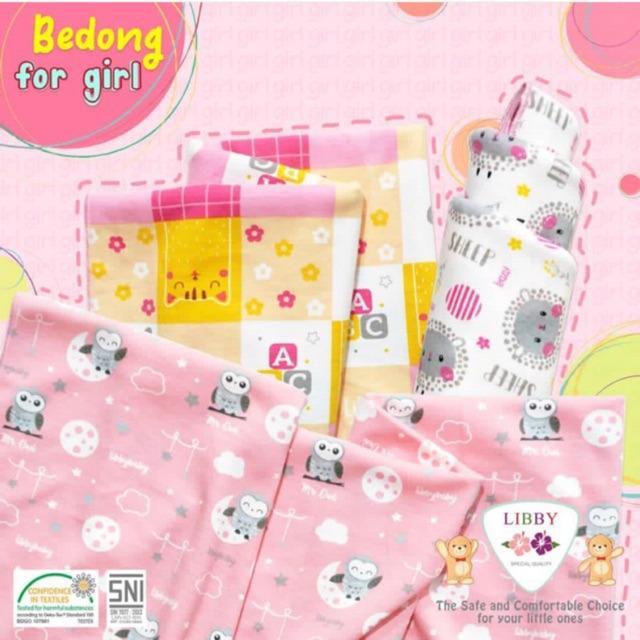 Libby Bedong Bayi Kaos Motif / Bedong Bayi Motif Libby
