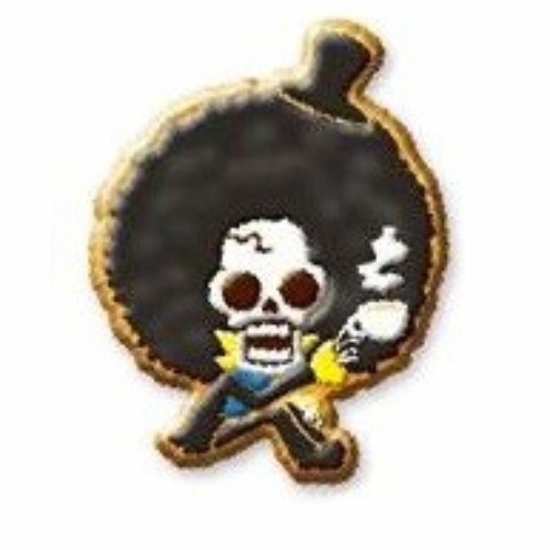 (Limited + Exclusive) One Piece x Lipton - Brook - Biscuit Mascot Strap