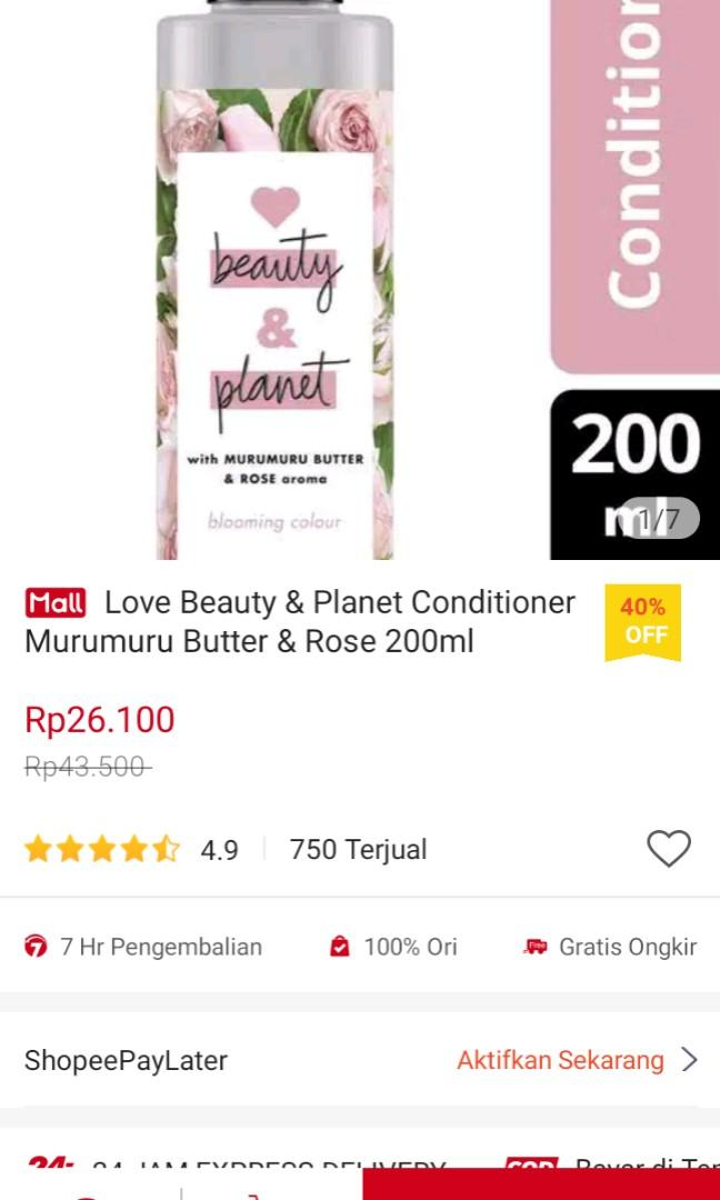 Love beauty and planet conditioner